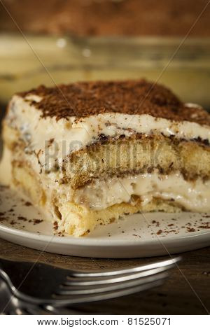 Homemade Tiramisu For Dessert