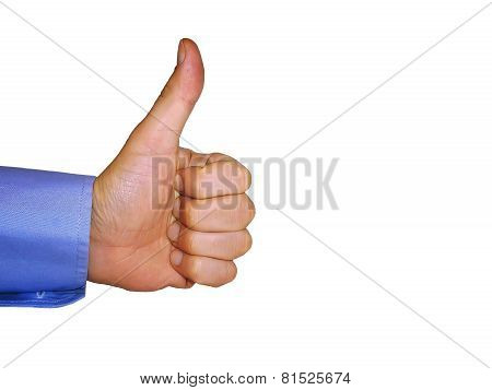 Like - big thumbs up