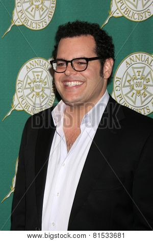 LOS ANGELES - FEB 28:  Josh Gad at the 2014 Publicist Luncheon at Beverly Wilshire Hotel on February 28, 2014 in Beverly Hills, CA