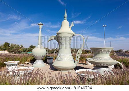 Coffeepot Sculpture In Al Ain