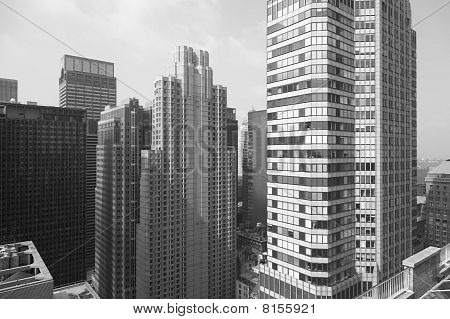New York City skyscrape