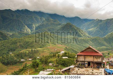 Sapa, Lao Cai Province, Vietnam.