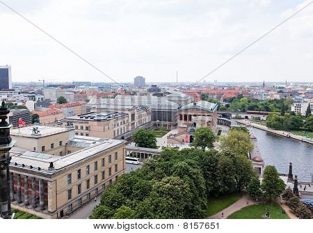 Aerial View Of Central Berlin