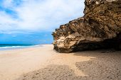 Verandinha beach Praia de Verandinha in Boavista Cape Verde - Cabo Verde poster