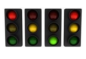 Set Of Traffic Lights