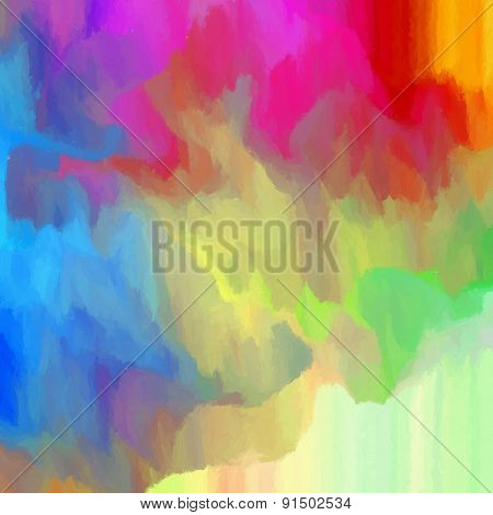 Abstract Colorful Background -  Digital Painting