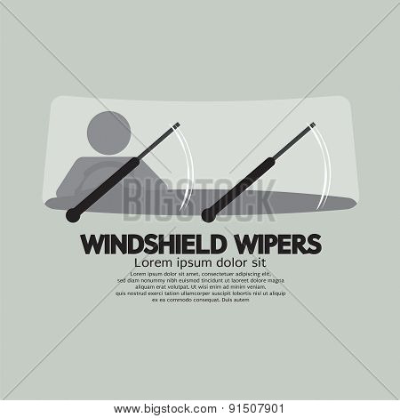 Windshield Wipers Car's Parts.