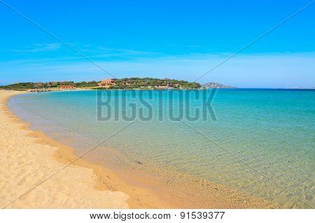Golden Shore In Porto Pollo Beach