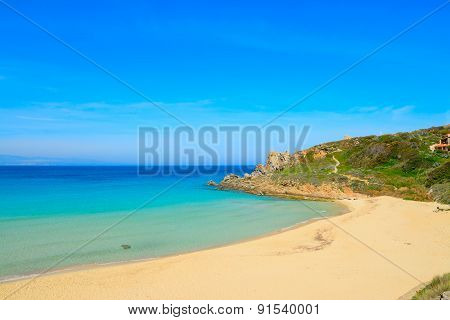 Rena Bianca Beach On A Clear Spring Day