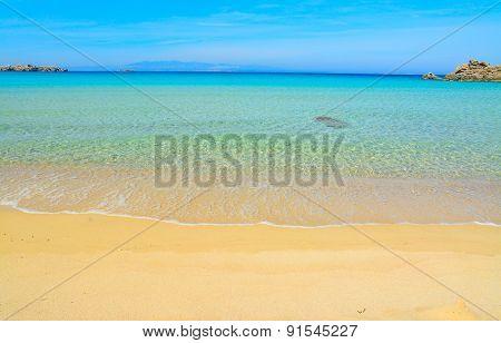 White Sand In Rena Bianca