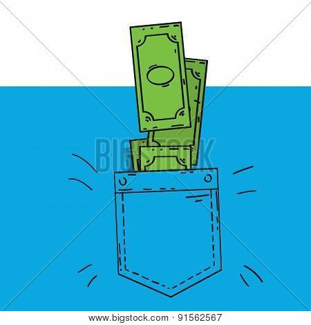 cash and poket