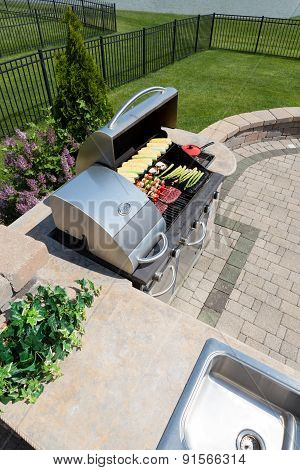 Healthy Outdoor Living Cooking In A Summer Kitchen