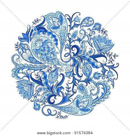 Paisley Decorative Pattern