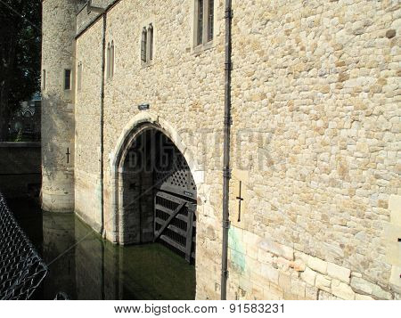 Traitors Gate at the Tower of London