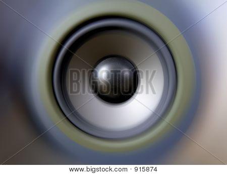 Speaker Tweeter Woofer Bass Boom Box Sound Waves
