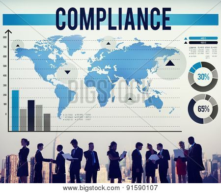 Compliance Agreement Acceptance Strategy Business Concept