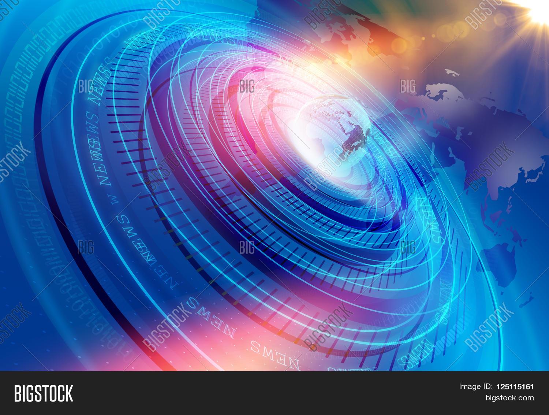 Graphical modern image photo free trial bigstock - Digital world hd ...