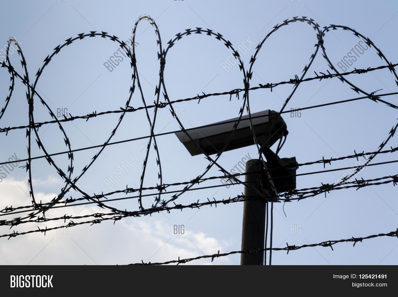 Security Camera Behind Image & Photo (Free Trial) | Bigstock