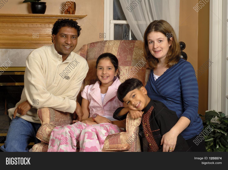 Biracial Family Image & Photo (Free Trial) | Bigstock