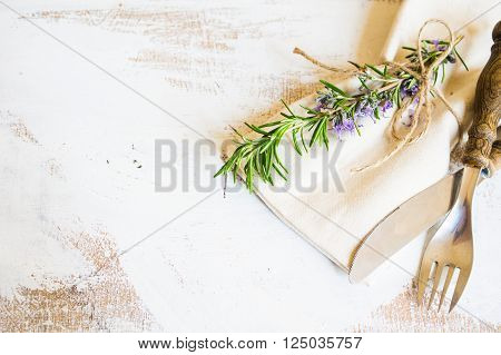 Rosemary Herb Concept