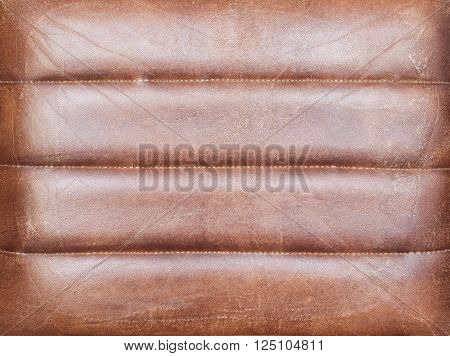 Reddish brown leather texture. Mock - up