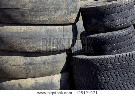 Used Commercial Tires For Recycling Industry