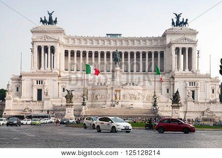 Altare Della Patria, National Monument Of Rome