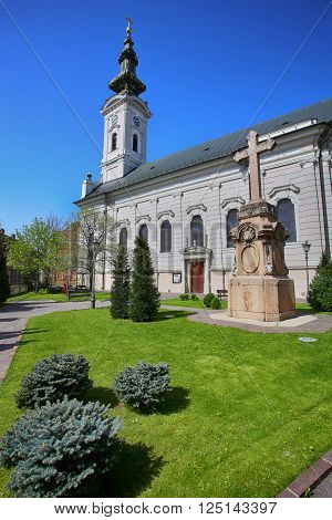 Cathedral Church of the Holy Great-Martyr George (Saborna Crkva) in Novi Sad, Serbia