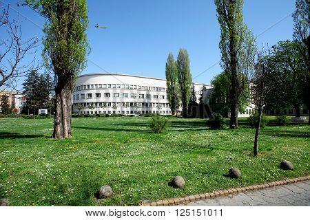 Novi Sad, Serbia - April 3. 2016 - Vojvodina's goverment in Novi SAd, Serbia ,