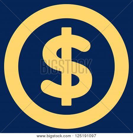 Finance vector icon. Finance icon symbol. Finance icon image. Finance icon picture. Finance pictogram. Flat yellow finance icon. Isolated finance icon graphic. Finance icon illustration.