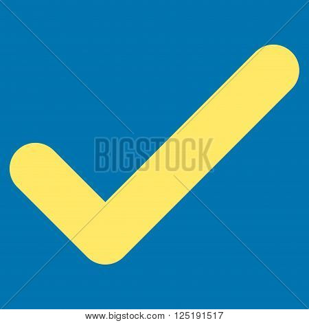 Ok vector icon. Ok icon symbol. Ok icon image. Ok icon picture. Ok pictogram. Flat yellow ok icon. Isolated ok icon graphic. Ok icon illustration.
