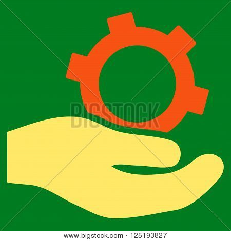 Engineering Service vector icon. Engineering Service icon symbol. Engineering Service icon image. Engineering Service icon picture. Engineering Service pictogram.