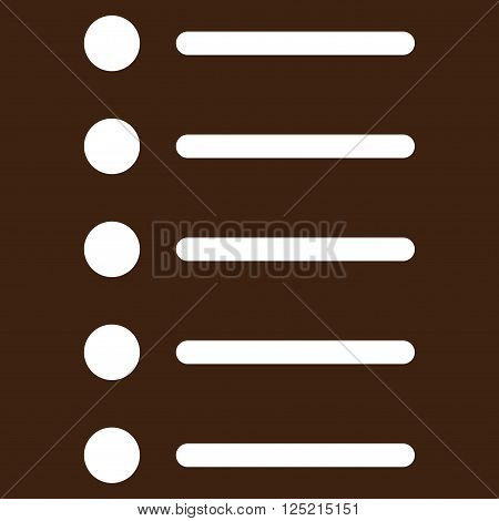 Items vector icon. Items icon symbol. Items icon image. Items icon picture. Items pictogram. Flat white items icon. Isolated items icon graphic. Items icon illustration.