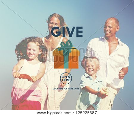 Give Donate Generosity Giving Support Help Concept