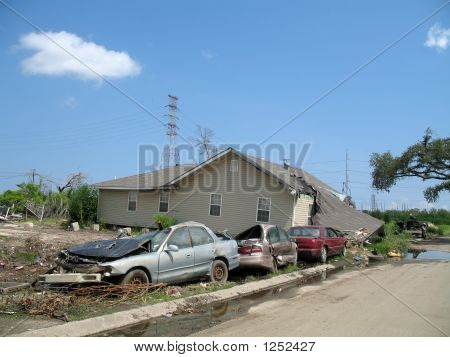Hurricane Katrina - Lower Ninth Ward Damage