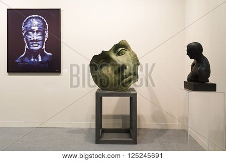 Artworks At Miart 2016 In Milan, Italy