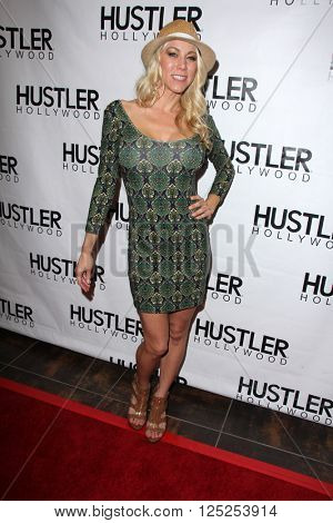 LOS ANGELES - APR 9:  Katie Morgan at the Hustler Hollywood Grand Opening at the Hustler Hollywood on April 9, 2016 in Los Angeles, CA