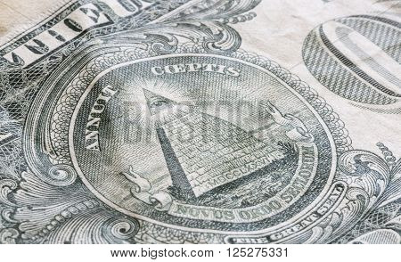 The Great Seal on the US One Dollar Bill