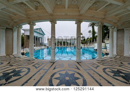 Luxurious Swimming Pool, Hearst Castle