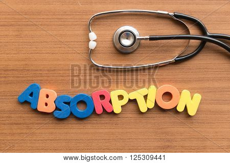 Absorption Medical Word