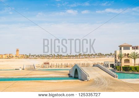 Port in Port Ghalib, Red Sea Riviera, Egypt
