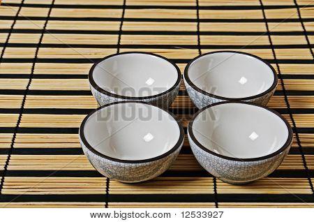 Four Cups For Tea
