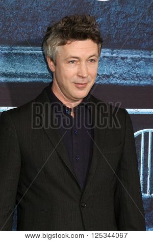 LOS ANGELES - APR 10:  Aidan Gillen at the Game of Thrones Season 6 Premiere Screening at the TCL Chinese Theater IMAX on April 10, 2016 in Los Angeles, CA