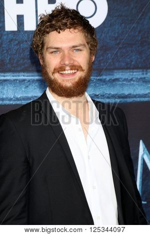 LOS ANGELES - APR 10:  Finn Jones at the Game of Thrones Season 6 Premiere Screening at the TCL Chinese Theater IMAX on April 10, 2016 in Los Angeles, CA