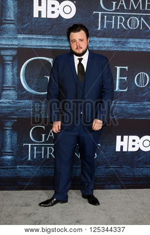 LOS ANGELES - APR 10:  John Bradley at the Game of Thrones Season 6 Premiere Screening at the TCL Chinese Theater IMAX on April 10, 2016 in Los Angeles, CA