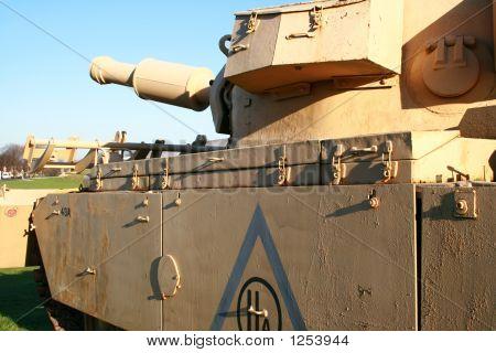 british centurion mk5 avre 165 tank. gulf war poster