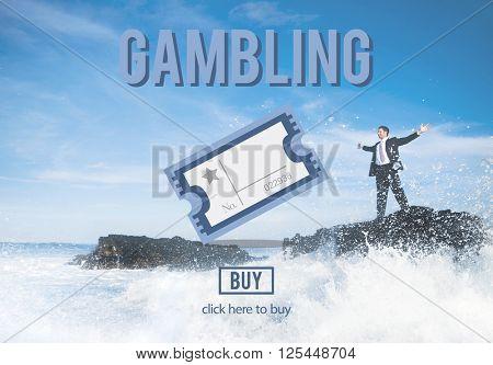 Gambling Betting Bet Jackpot Lottery Lucky Concept