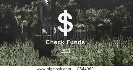 Check Funds Dollar Sign Financial Concept
