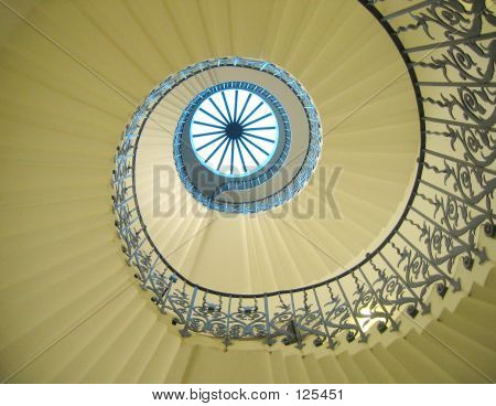 Decorative Spiral Staircase
