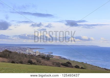 Eastbourne Cityview From The Top